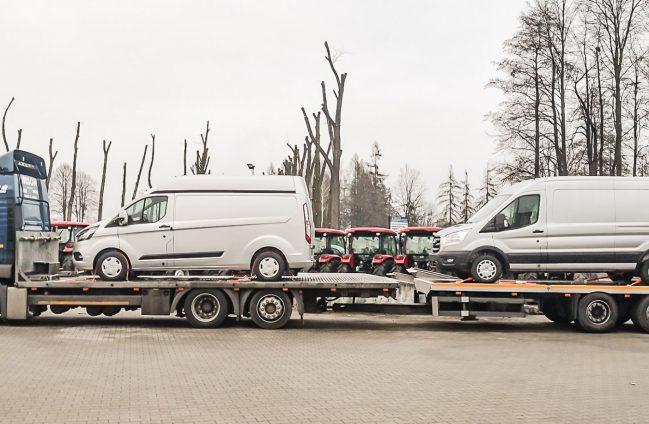 Samochody dostawcze zabudowa chłodnicza