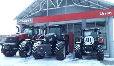 Chwalebne URSON Ciągniki CASE STEYR sprzedaż, serwis maszyn rolniczych VT53